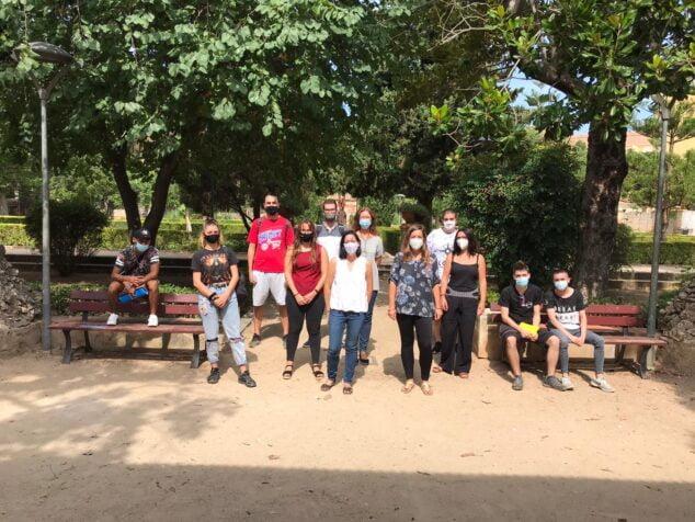 Imagen: Alumnos del curso de montes