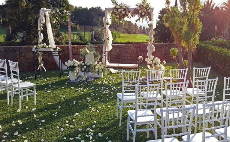 Boda romántica en Dénia -  Hotel Dénia Marriott La Sella Golf Resort & Spa