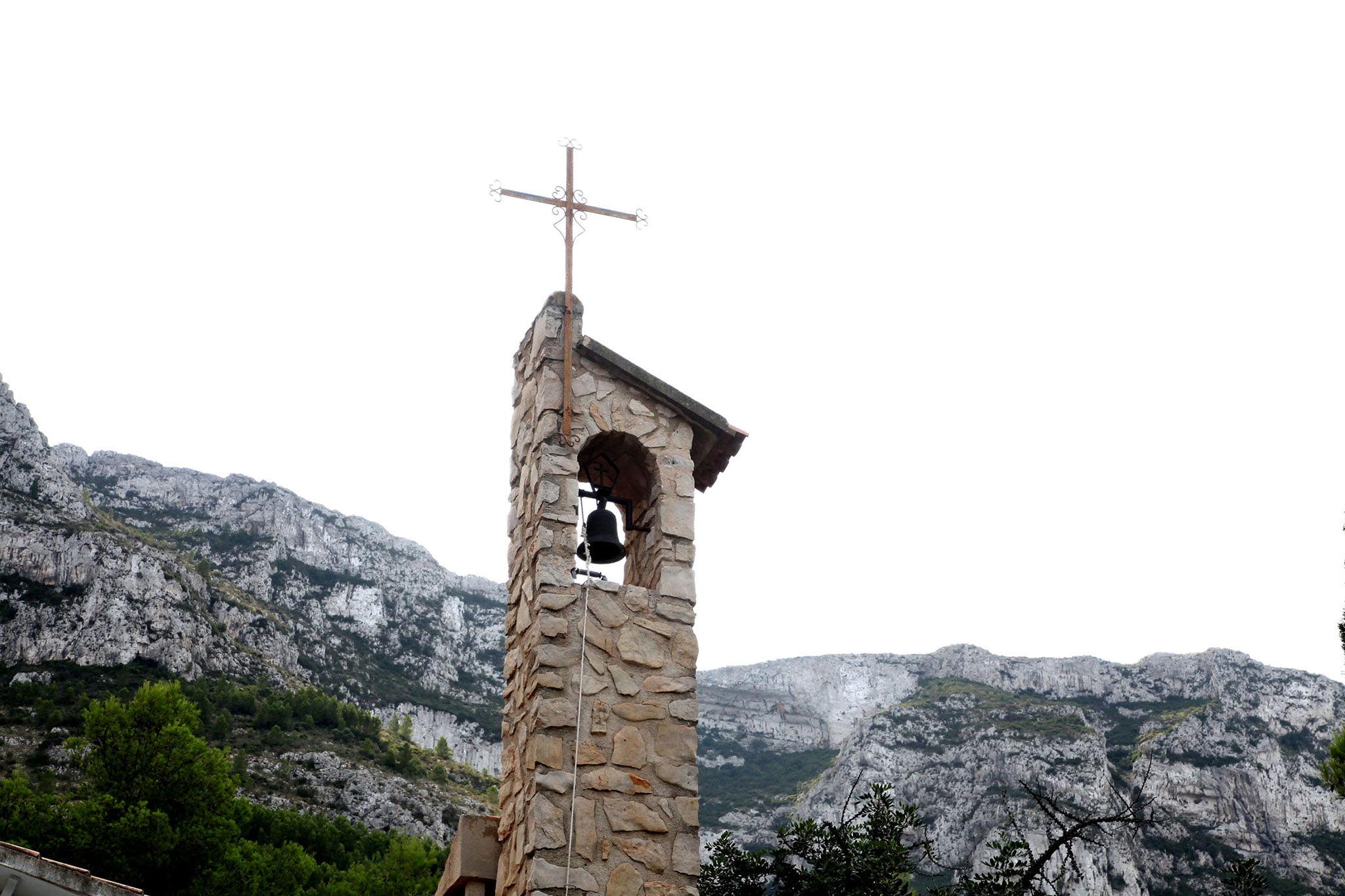 Campana de la ermita del Pare Pere | Imagen: Tino Calvo