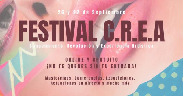 Imagen: Cartel de Festival C.R.E.A