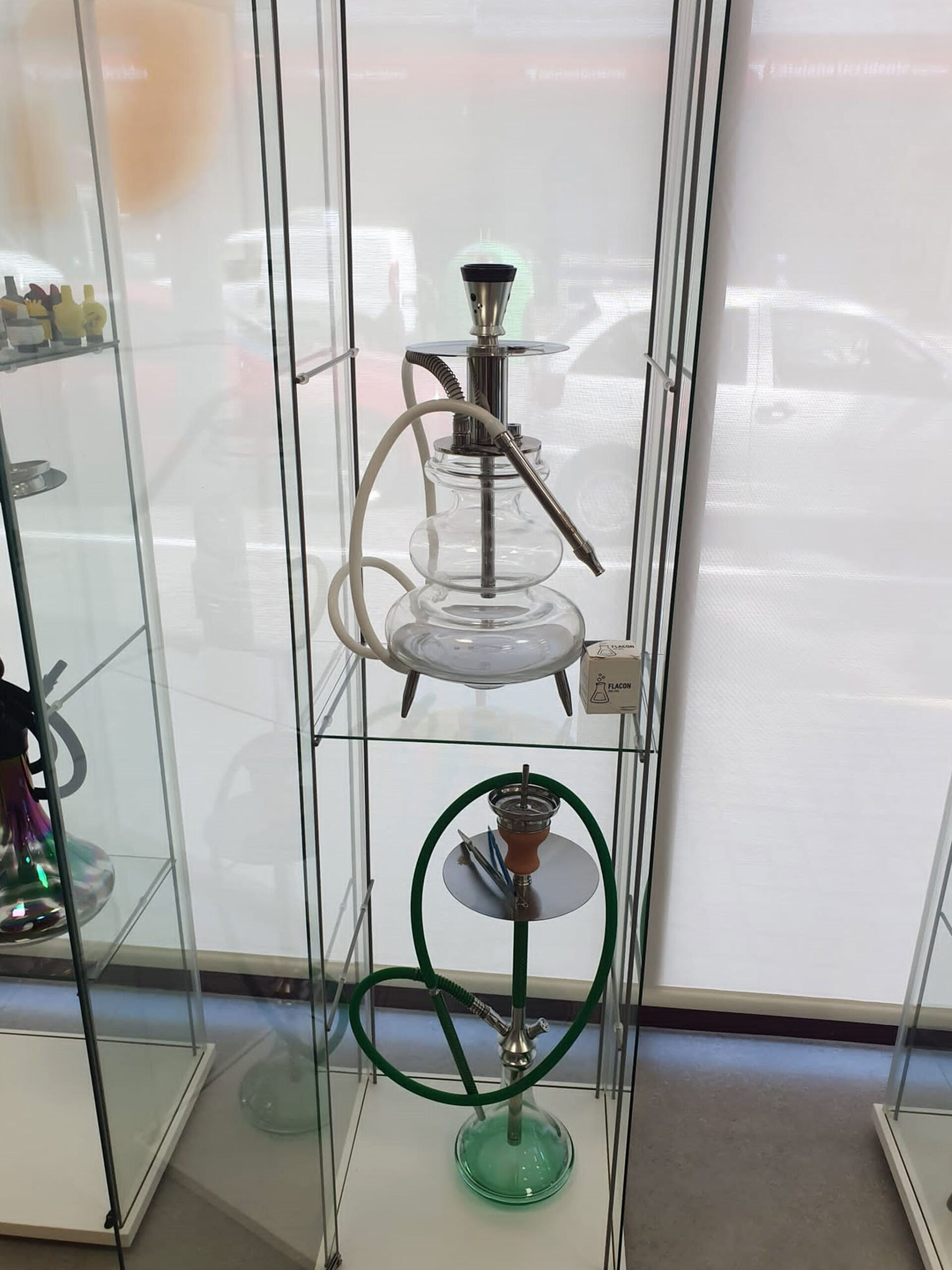 Different types of hookahs in Dénia - Estanco Nº10