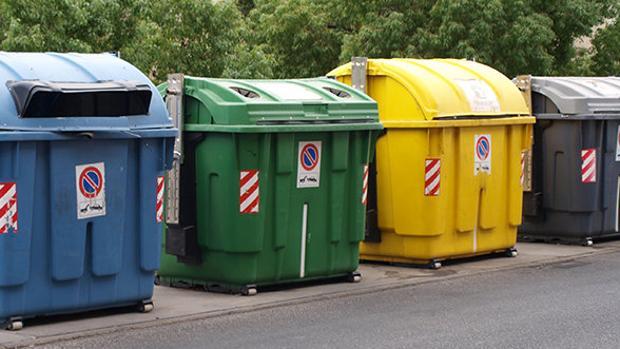 Imagen: Contenedores de reciclaje