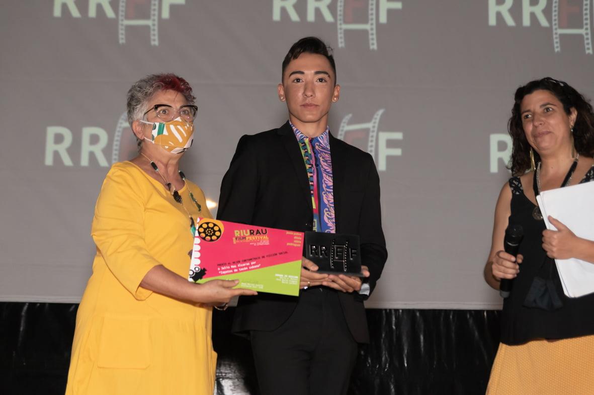El bailarín Pedro Puente regoge el premio al Mejor Film Social | Jordi Dominguis