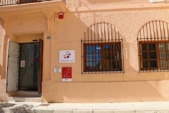 Image: Entrance of the Dénia Citizen Service Office