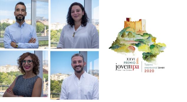 Imagen: Finalistas de los premios Jovempa 2020