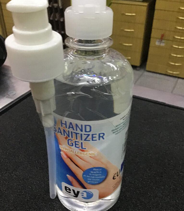 Gel higienizante de manos - Coloma 2 Ferreteros