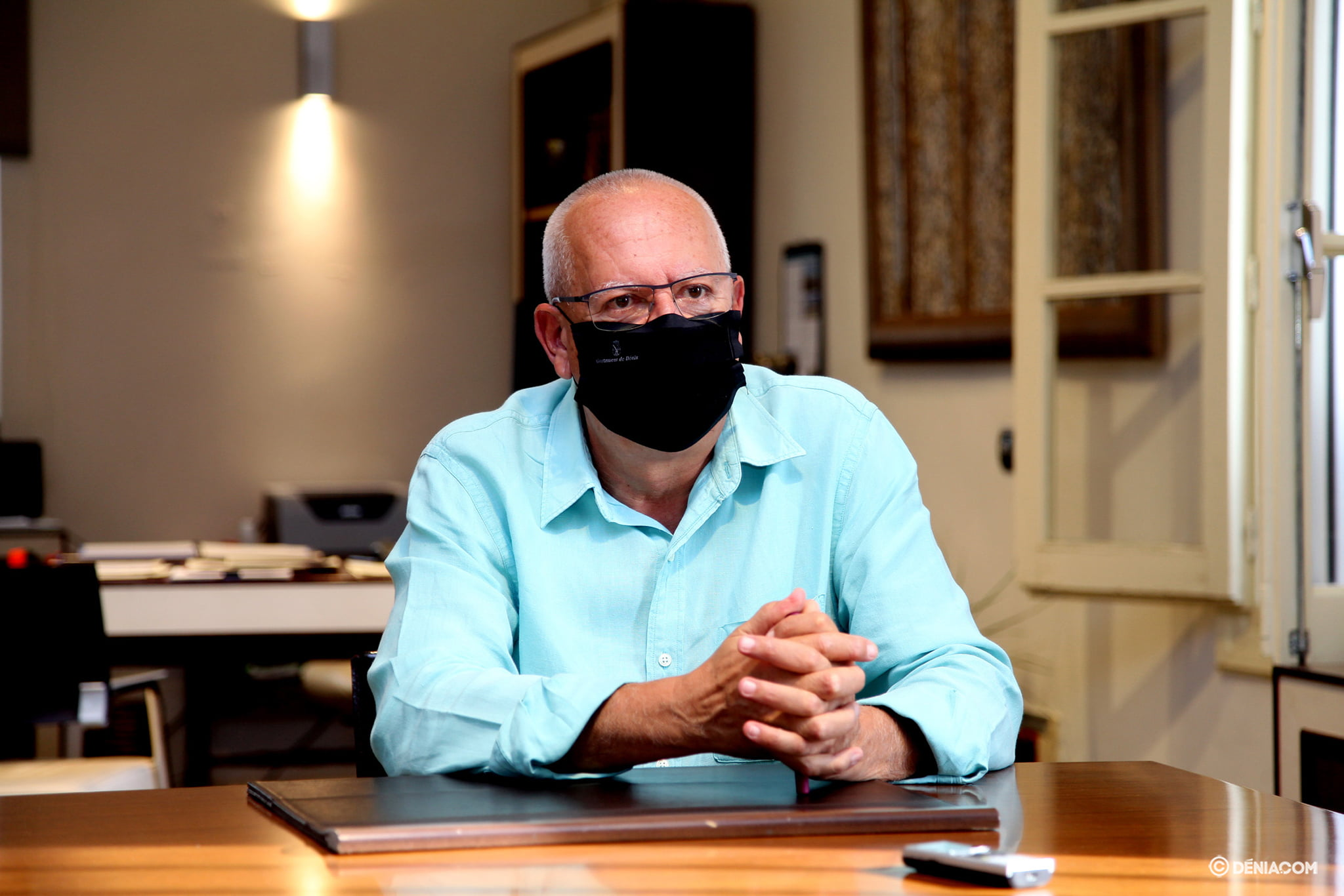 Grimalt cuenta cómo vive el Ayuntamiento el embate de la COVID | Tino Calvo