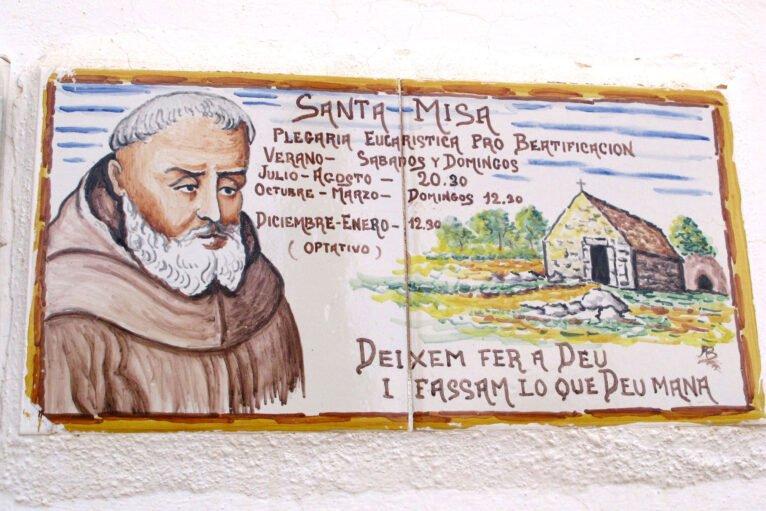 Horario de misas en la Ermita del Pare Pere de Dénia