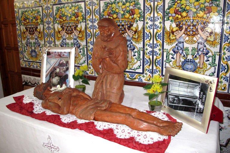 Imagen en la ermita del Pare Pere en Dénia | Imagen: Tino Calvo