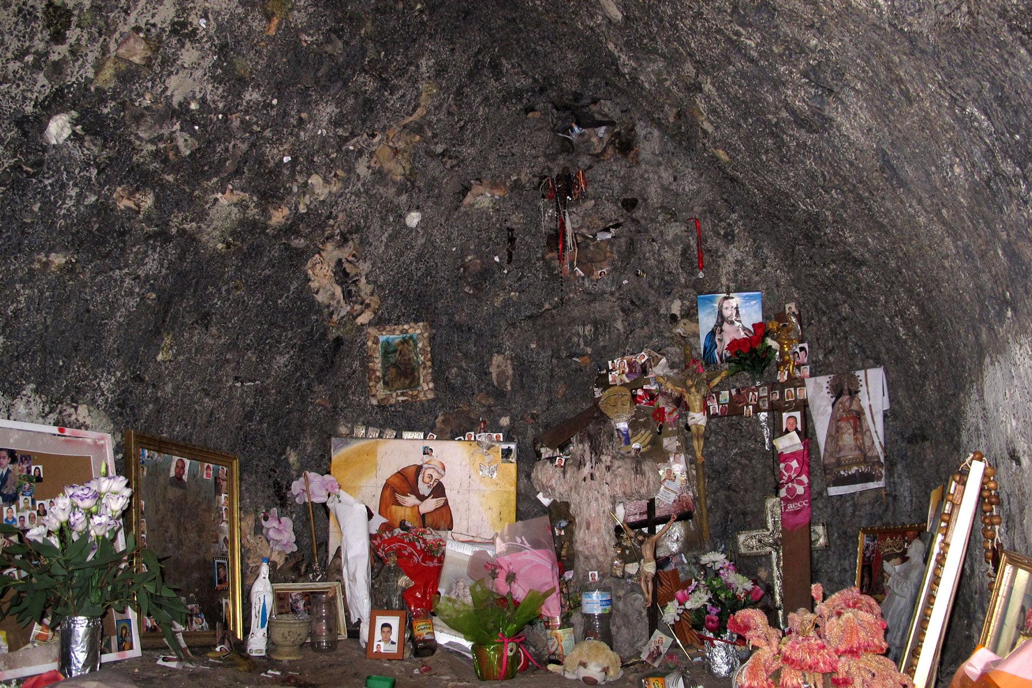 Interior de la caseta del Pare Pere en Dénia | Imagen: Tino Calvo
