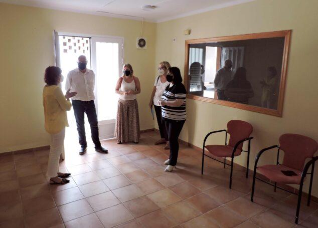 Image: Inside the facilities of the Punt de Trobada Familiar