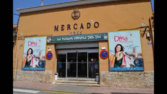Image: Municipal market of Dénia