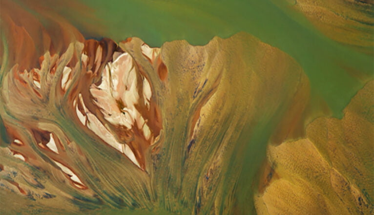 Transitory landscapes of Júlia Potrés