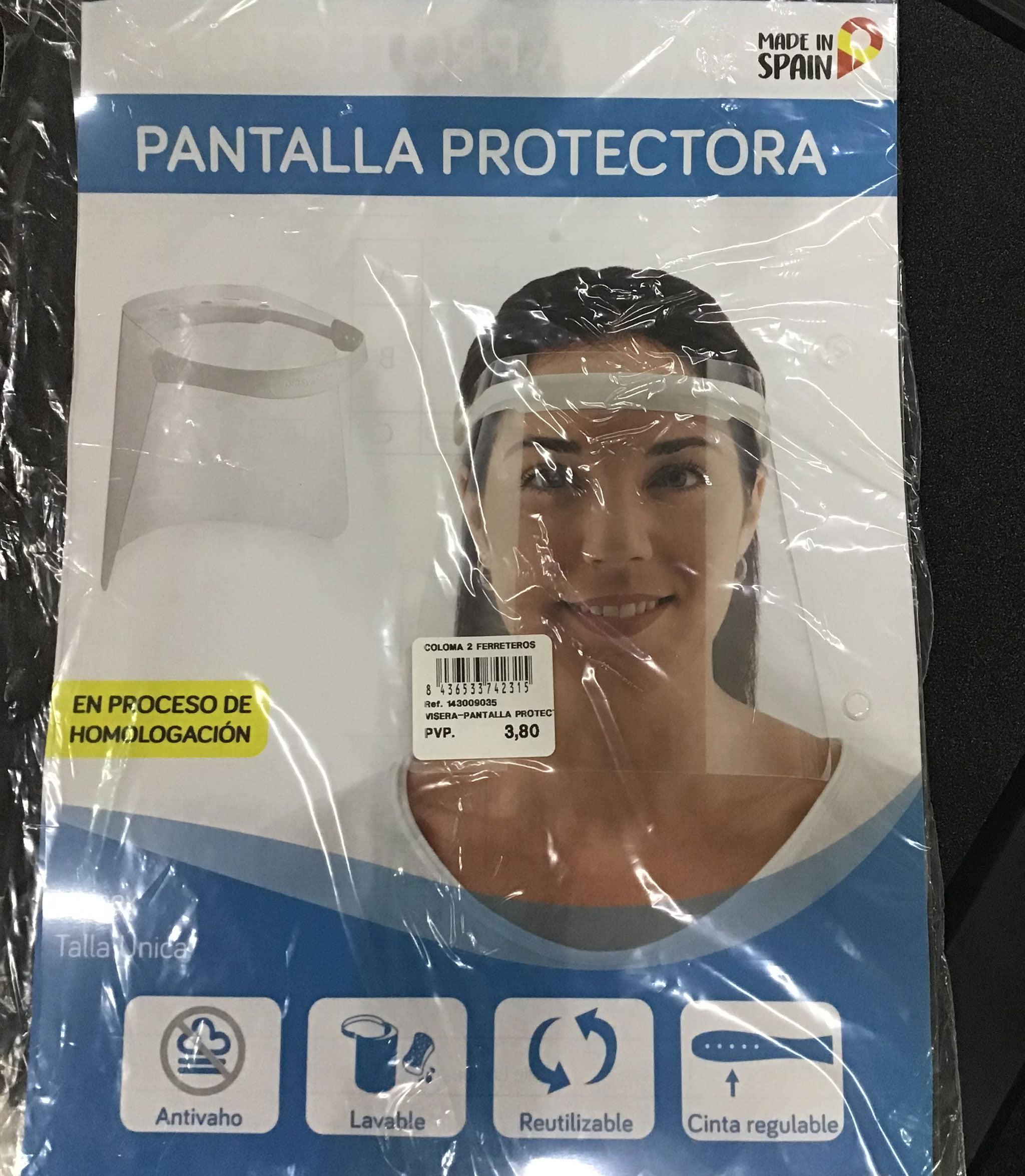 Pantalla protectora – Coloma 2 Ferreteros