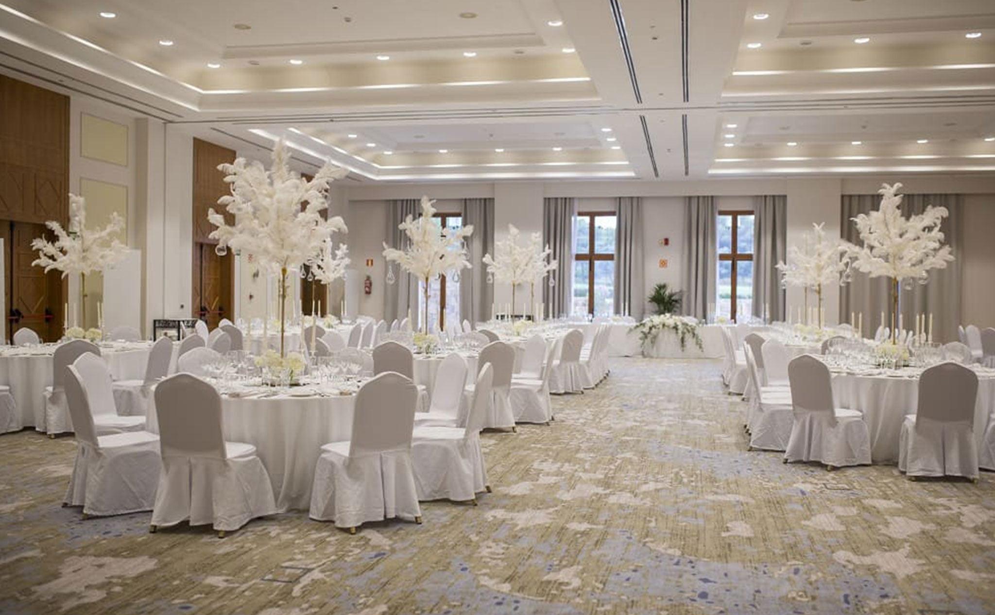 Salón del Hotel Dénia Marriott La Sella Golf Resort & Spa