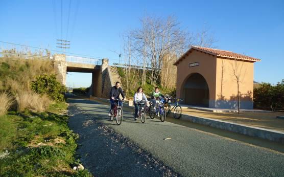 Imagen: Vía Verde Dénia