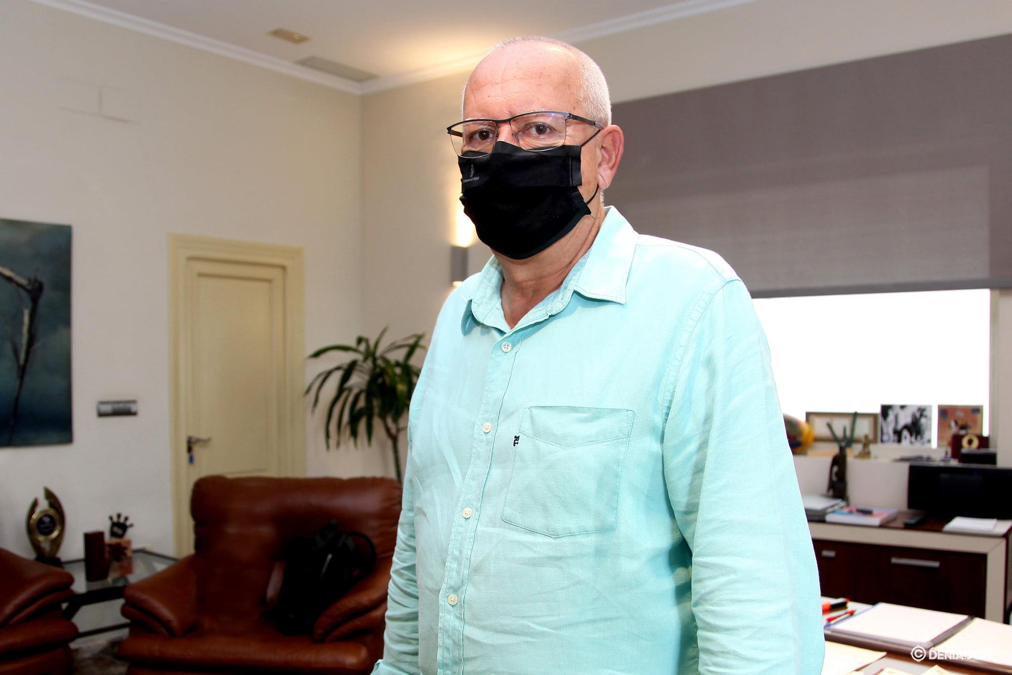 Vicent Grimalt, alcalde de Dénia | Tino Calvo