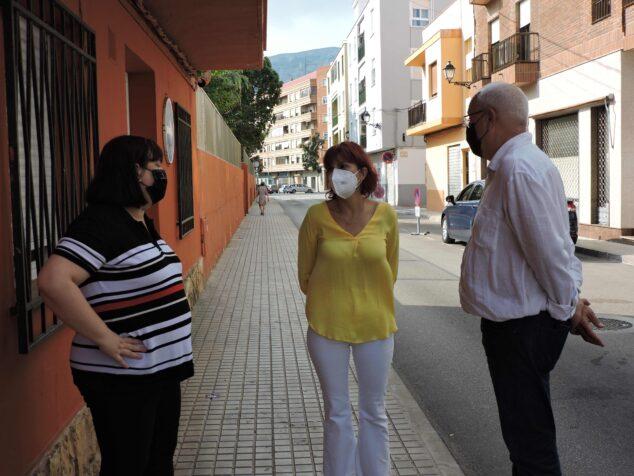 Image: Visit of the General Director to the Punt de trobada familiar