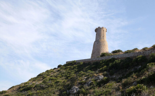 Imagen: Vista general de la Torre del Gerro de Dénia