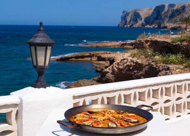 Imatge: Arròs amb vista a el Cap de Sant Antoni, al Restaurant Mena