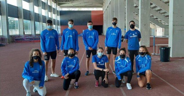 Imatge: Atletes de CA Baleària Dianium
