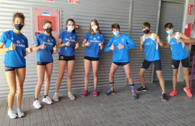 Image: CA Baleària Diànium athletes
