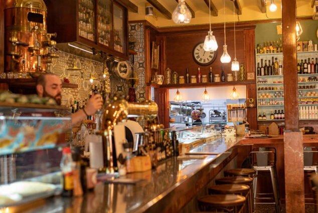Image: Bar at Casa Miguel Juan