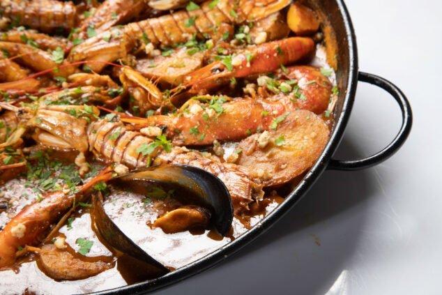Image: Ragoût de poisson et de fruits de mer à Dénia - Restaurant Voramar