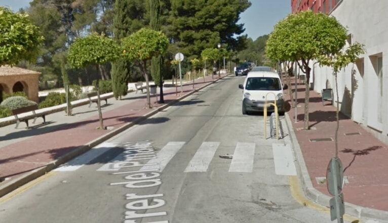 Calle Pinaret de Jesús Pobre