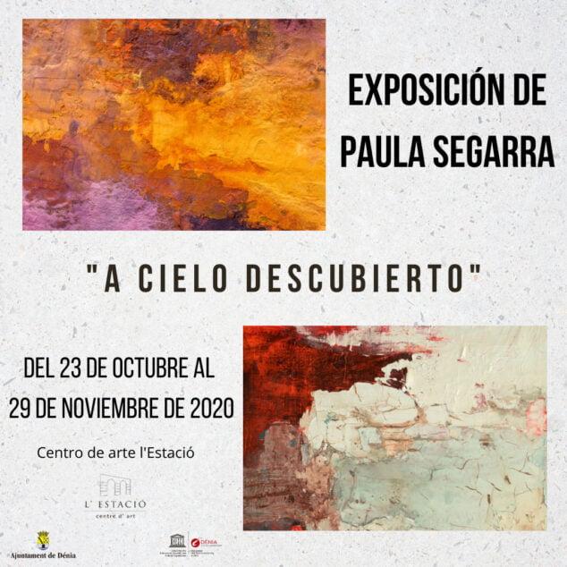 Image: Affiche de l'exposition Open Sky