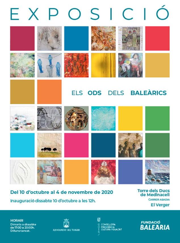 Imagen: Cartel exposición en El Verger