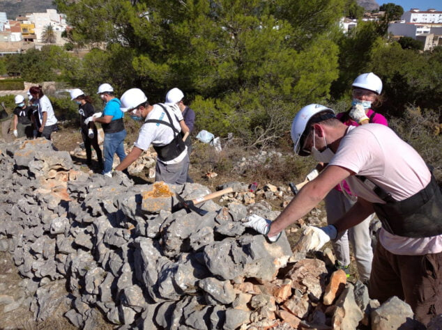 Image: Dry Stone Course
