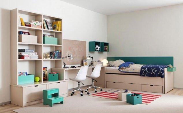 Imagen: Dormitorio juvenil en Muebles Martínez