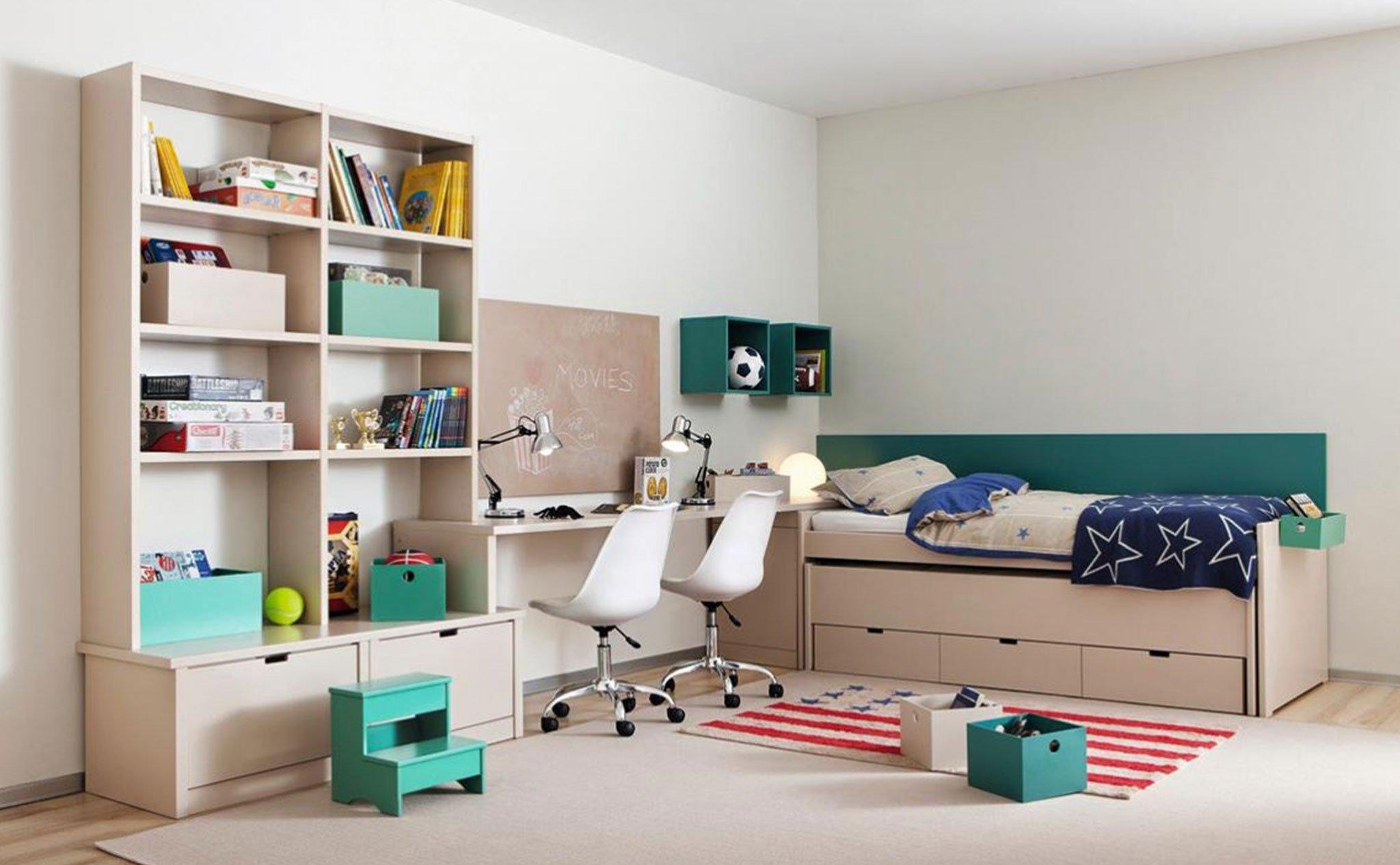 Dormitorio juvenil en Muebles Martínez