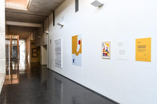 Imatge: Exposició a l'Hospital de Dénia