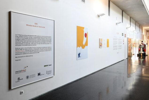 Imatge: Exposició Mirades des de la Il·lustració