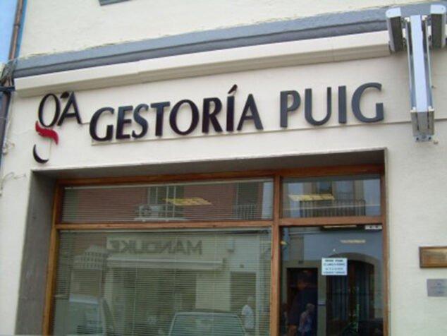 Imagen: Fachada de Gestoría Puig Cañamás