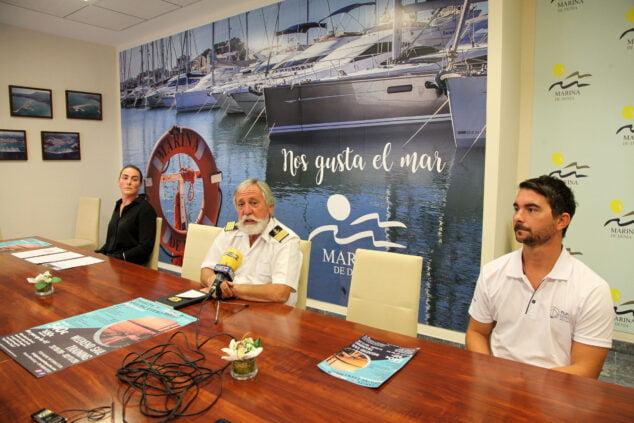 Imagen: Gabriel Martínez en la presentación del evento solidario