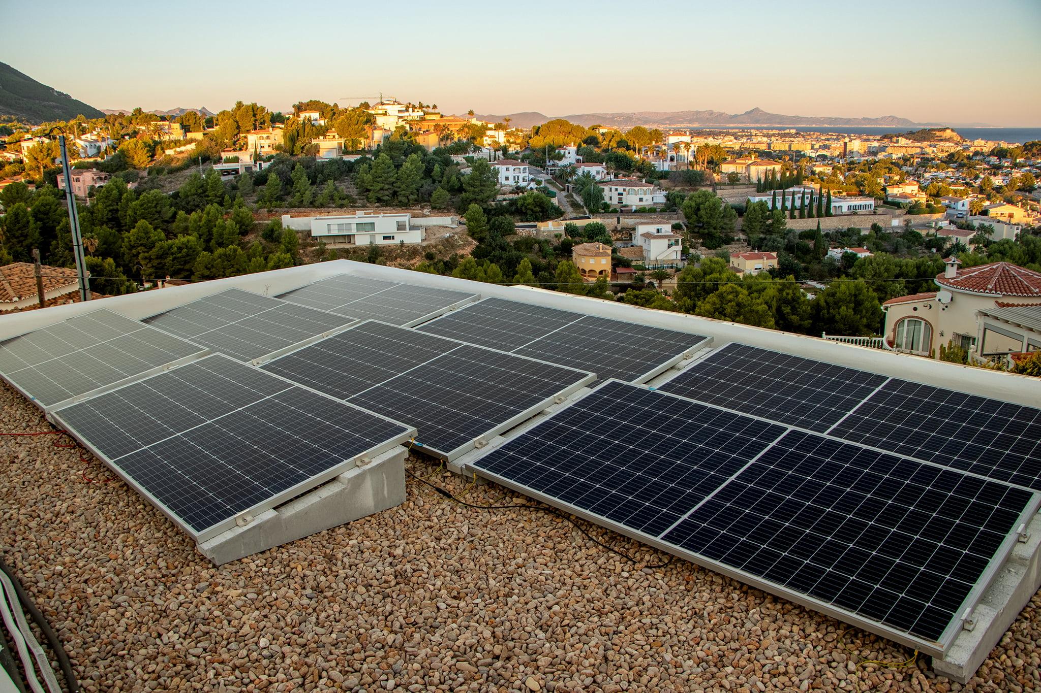 Instalación solar renovable en Jávea – SUN & PROJECTS