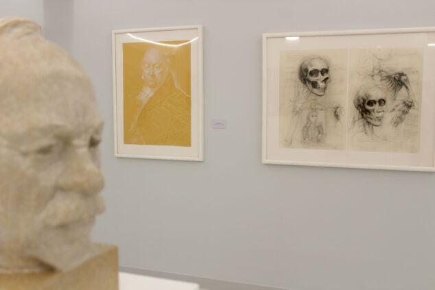 Imagen: Obras de Joan Castejón en el nuevo Espai d'art