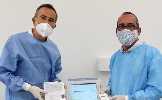 Imagen: Parte del equipo de cardiología de Policlínica Glorieta