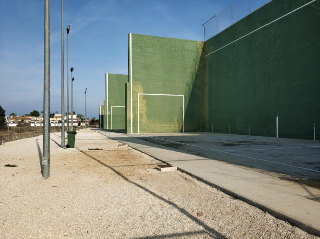 Image: Fronton courts of Dénia