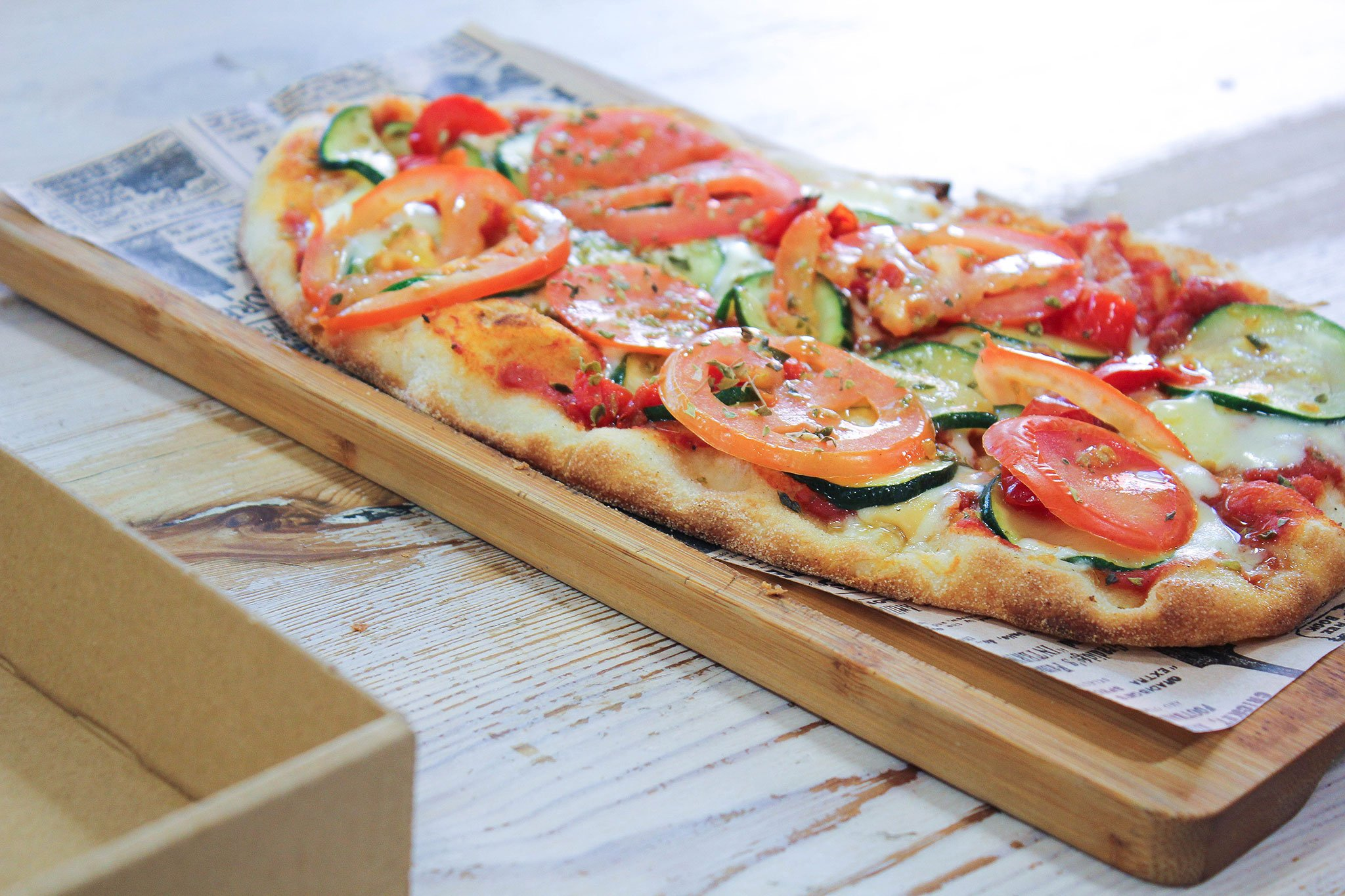 Healthy pizzas to take away in Dénia - DOA