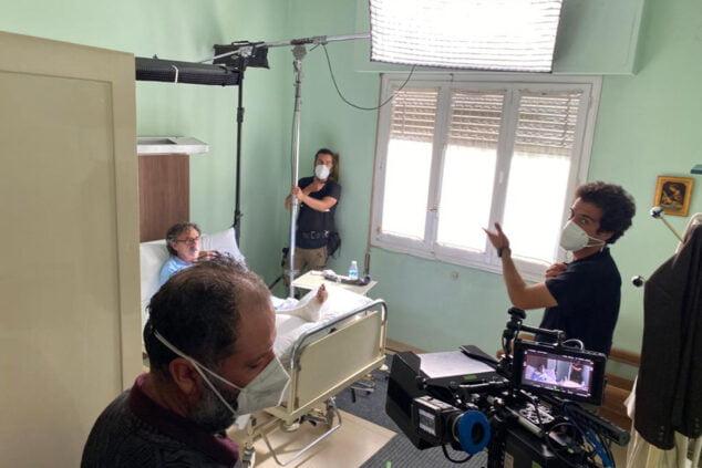 Изображение: Съемка «Эль Суституто» в клинике Буиге | Тино Кальво