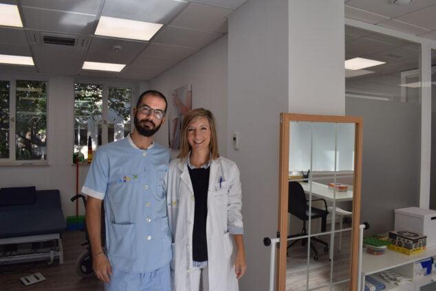 Imatge: Treballadors de la Unitat Ambulatòria de Dany Cerebral Adquirit
