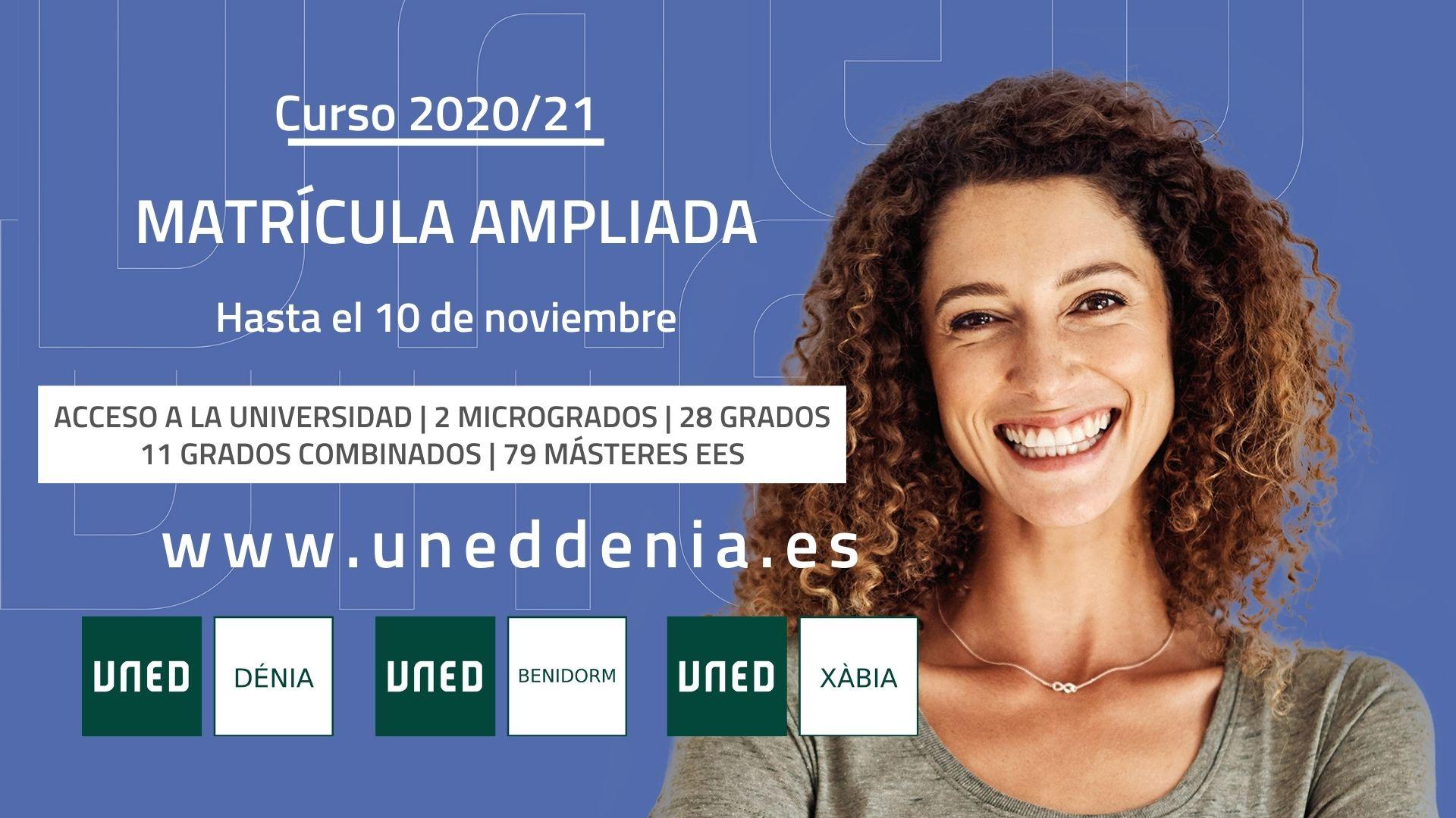 UNED Dénia - Enlargement of enrollment