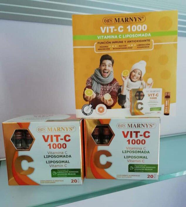 Imagen: VIT-C 1000 Liposomada - Herboristería Antonia