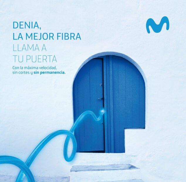 Imagen: Abre la puerta a la fibra Movistar en Dénia