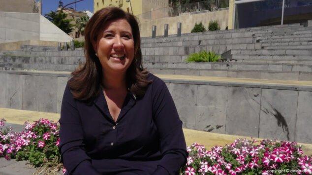Imagen: Ana Kringe, ex alcaldesa de Dénia