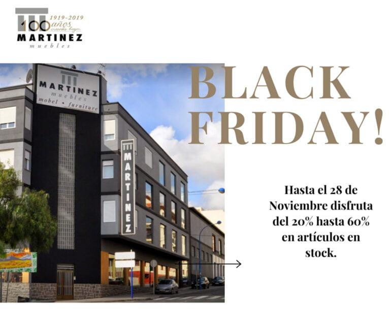Black Friday en Muebles Martínez